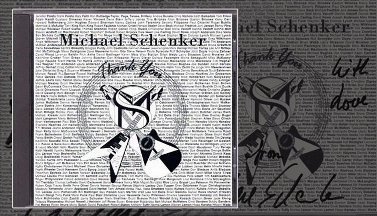 <i>Thank You</i><span>Michael Schenker</span>